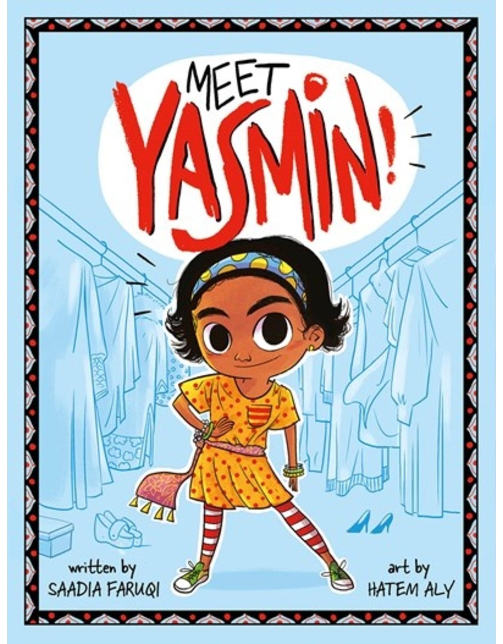 Books Meet Yasmin! by Saadia Faruqi (summerbookclub)