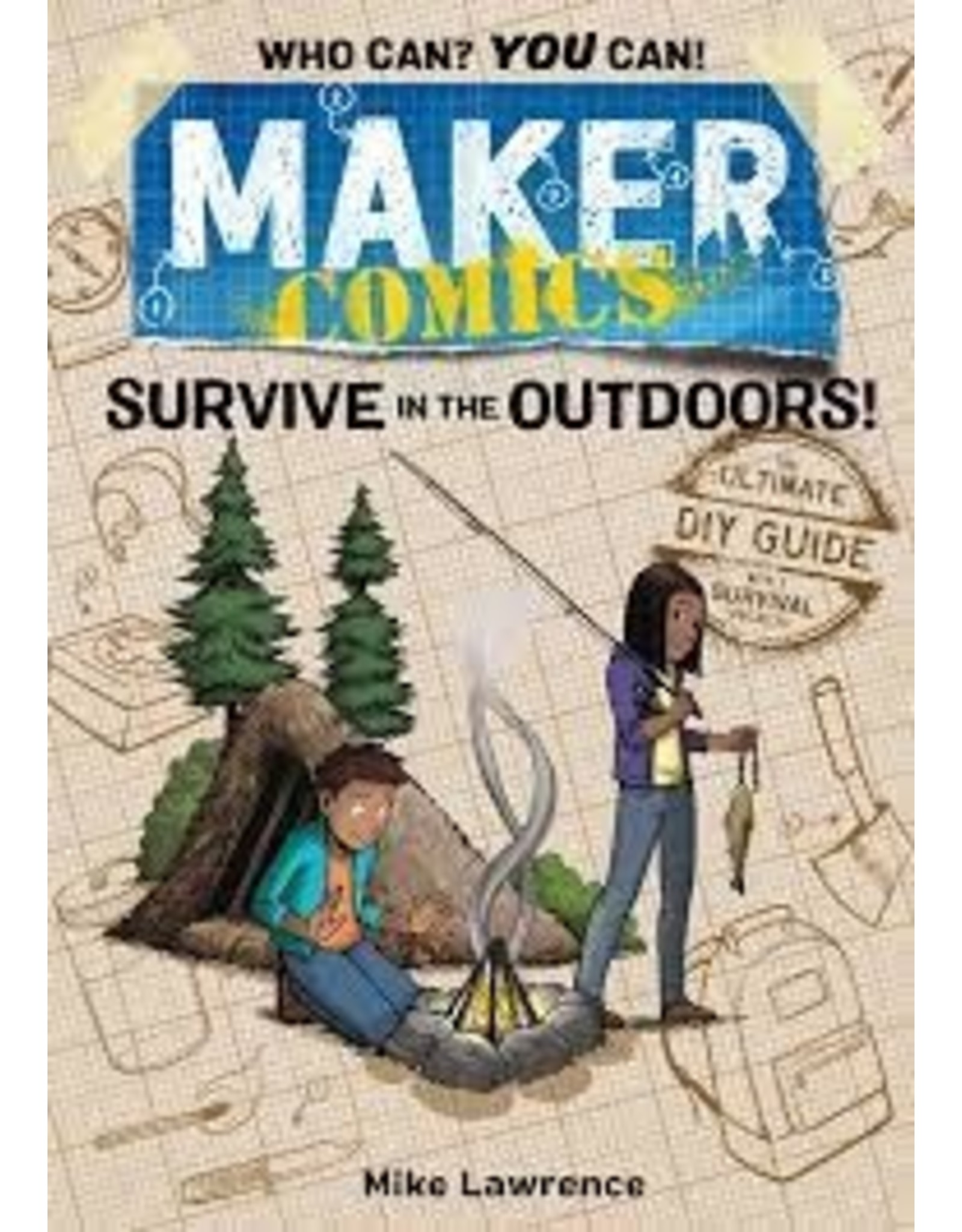 Books Maker Comics: Survive the Outdoors by Mike Lawrence
