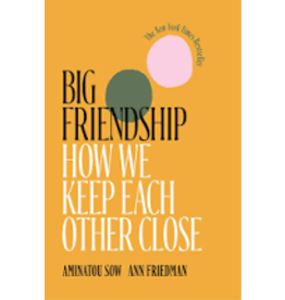 Books Big Friendship: How We Keep Each Other Close by Aminatou Sow and Ann Friedman