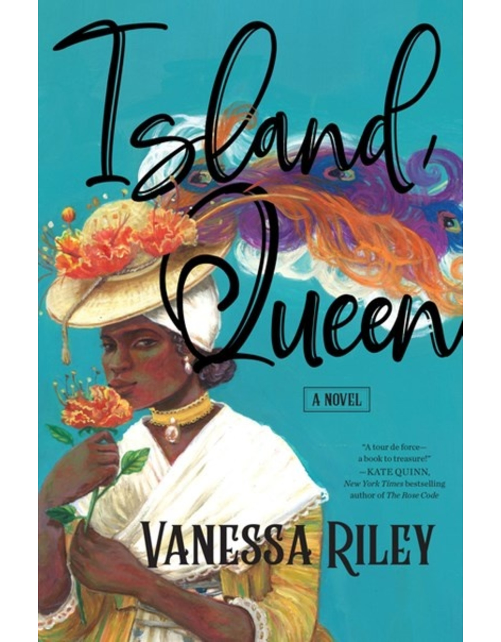 Books Island Queen: A Novel by Vanessa Riley