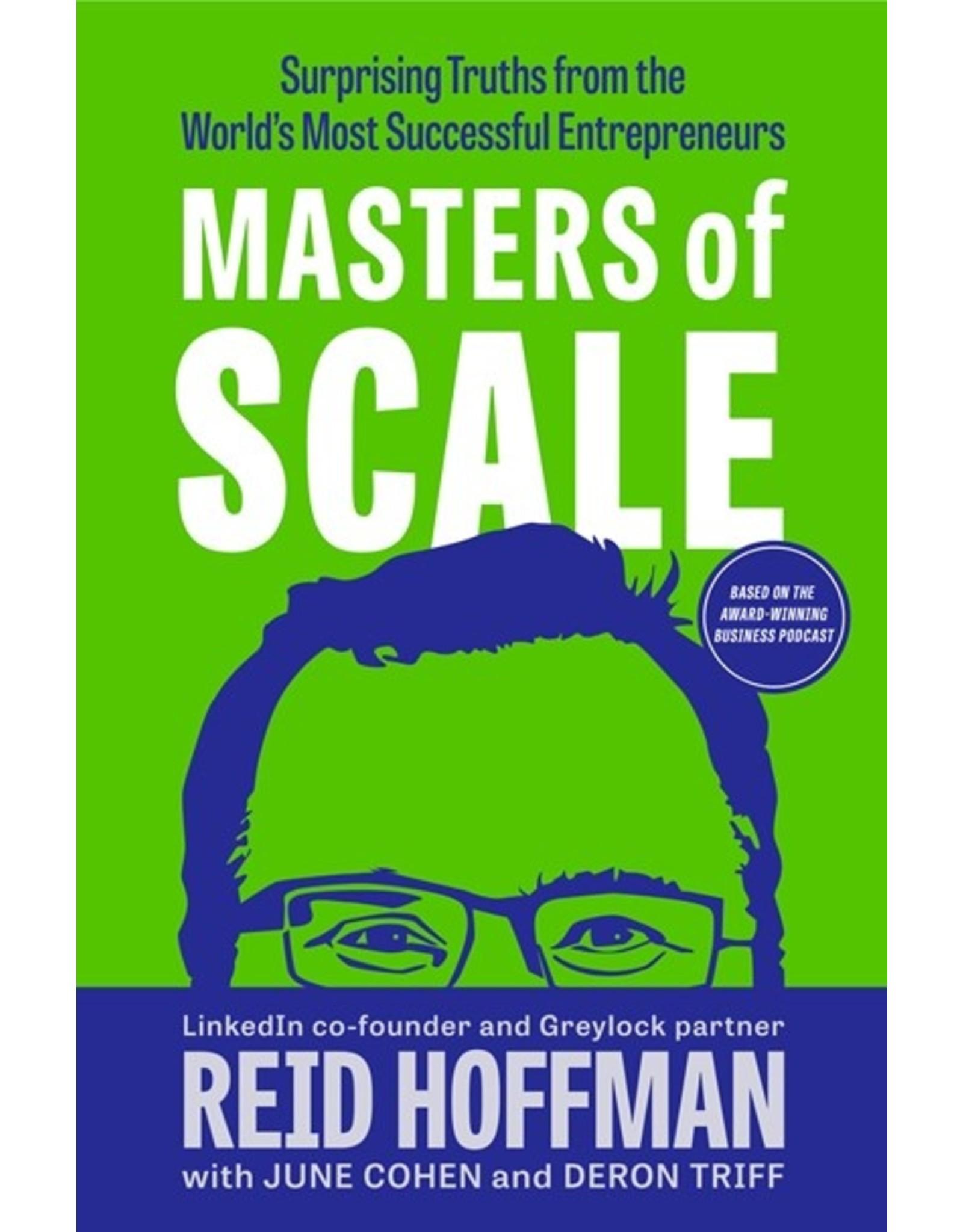 Books Masters of Scale by Reid Hoffman