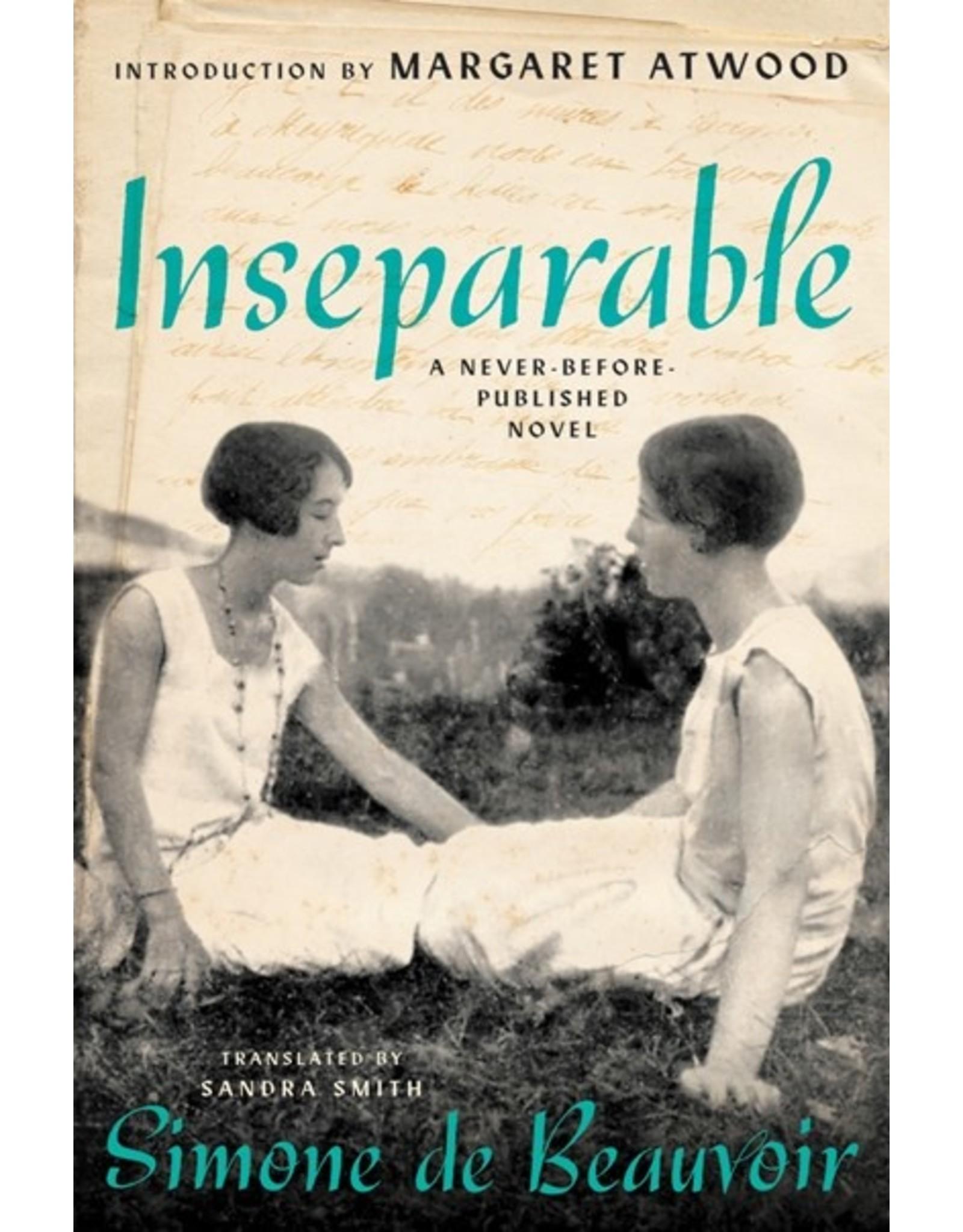 Books Inseparable: A Never Before Published Novel of Simone de Beauvoir
