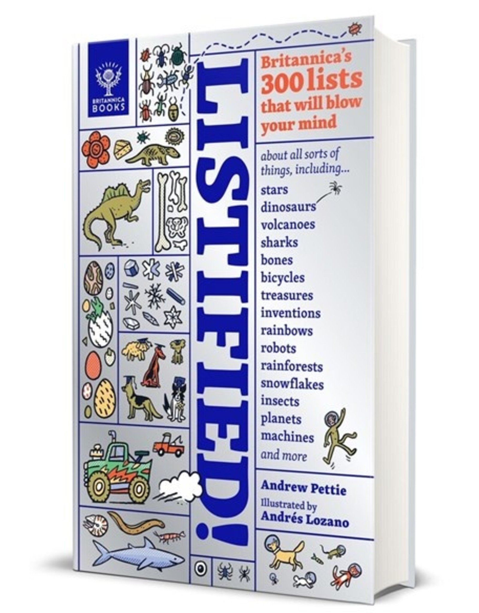Books Listified! by Andrew Pettie Ilustrated by Andres Lozano ( Holiday Catalog 21)