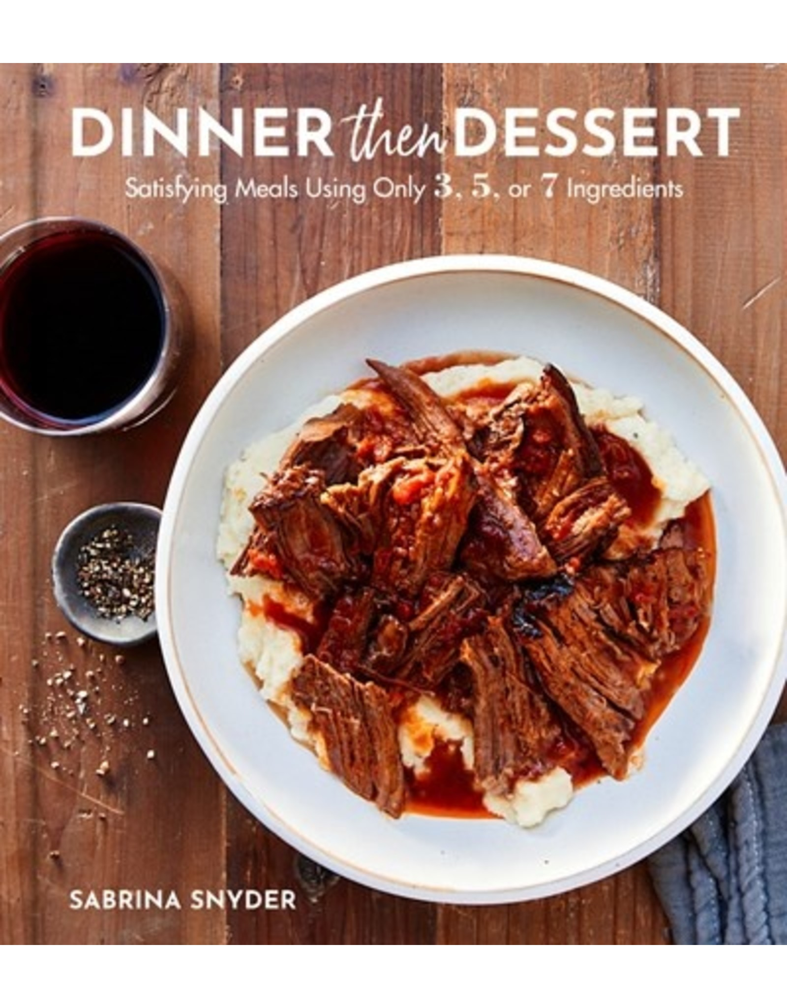 Books Dinner Then Dessert by Sabrina Snyder