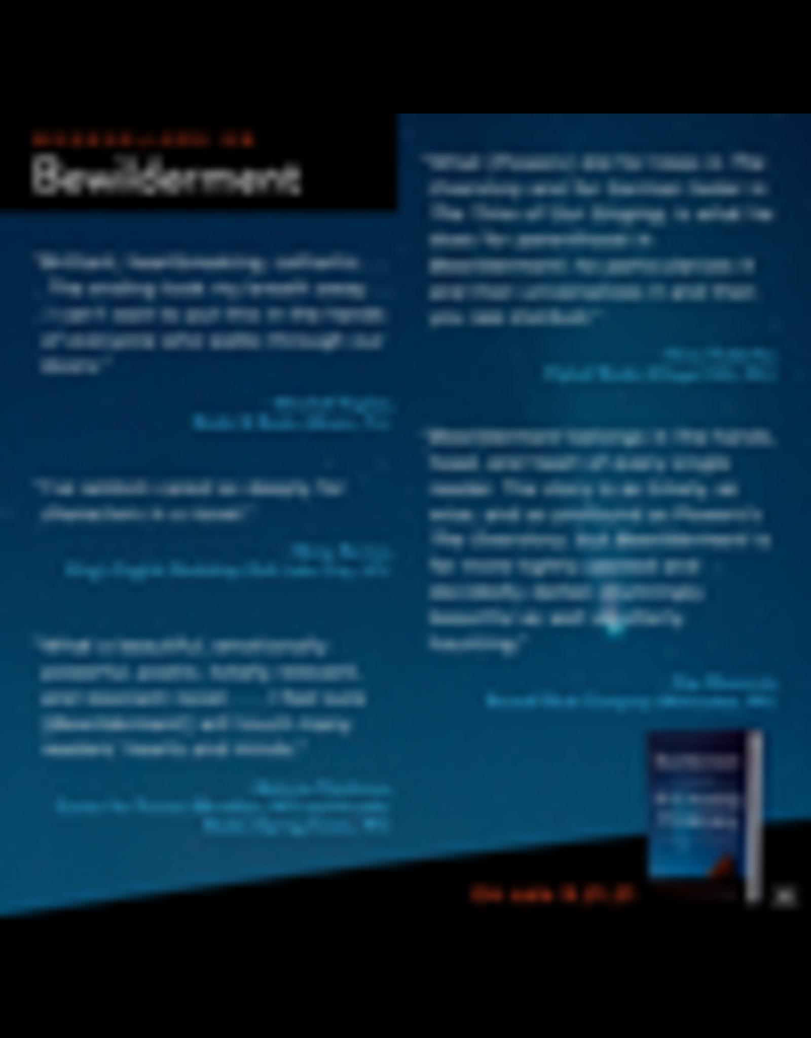 Books Bewilderment: A Novel by Richard Powers