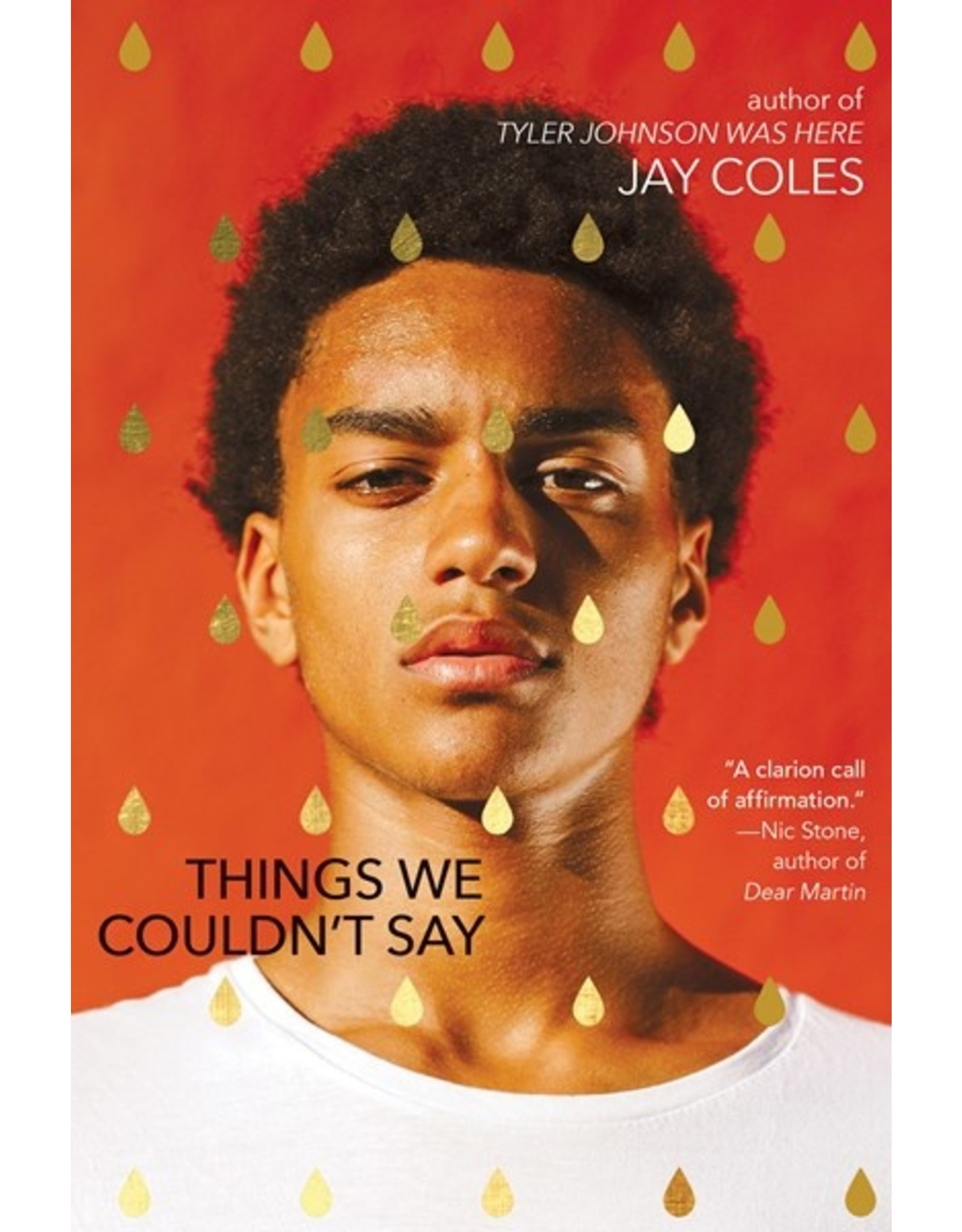 Books Things We Couldn't Say by Jay Coles (Signed Copies)