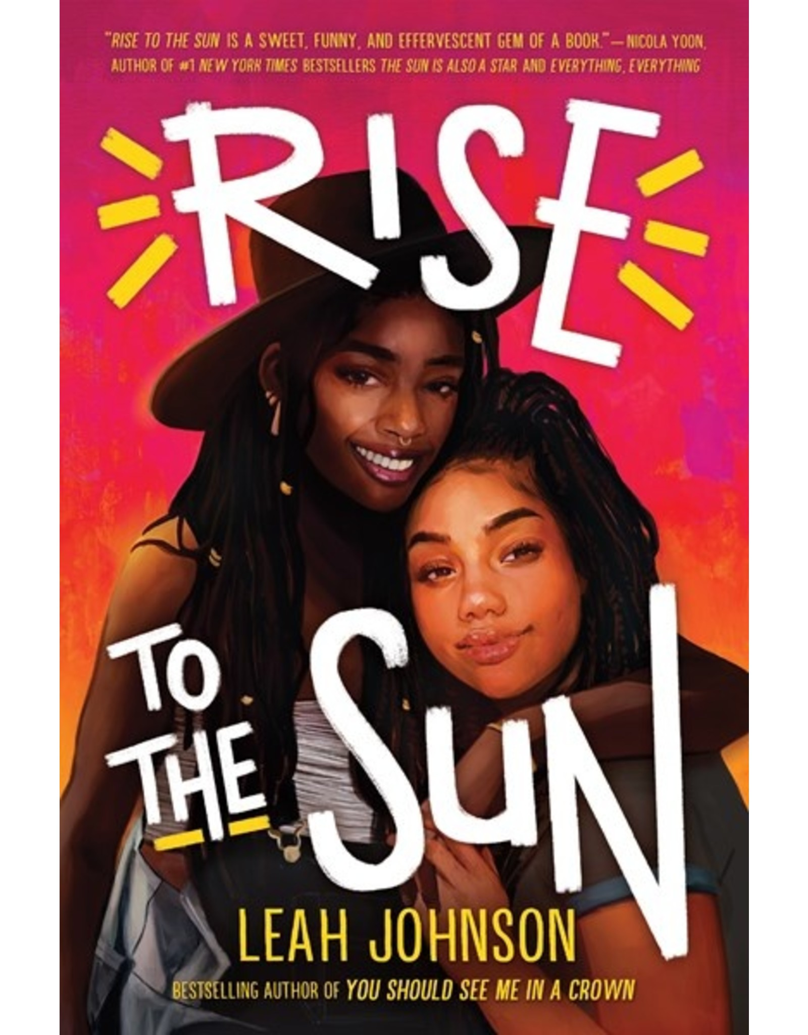 Books Rise to the Sun by Leah Johnson (Holiday Catalog 21) ( Virtual Event 9/24)