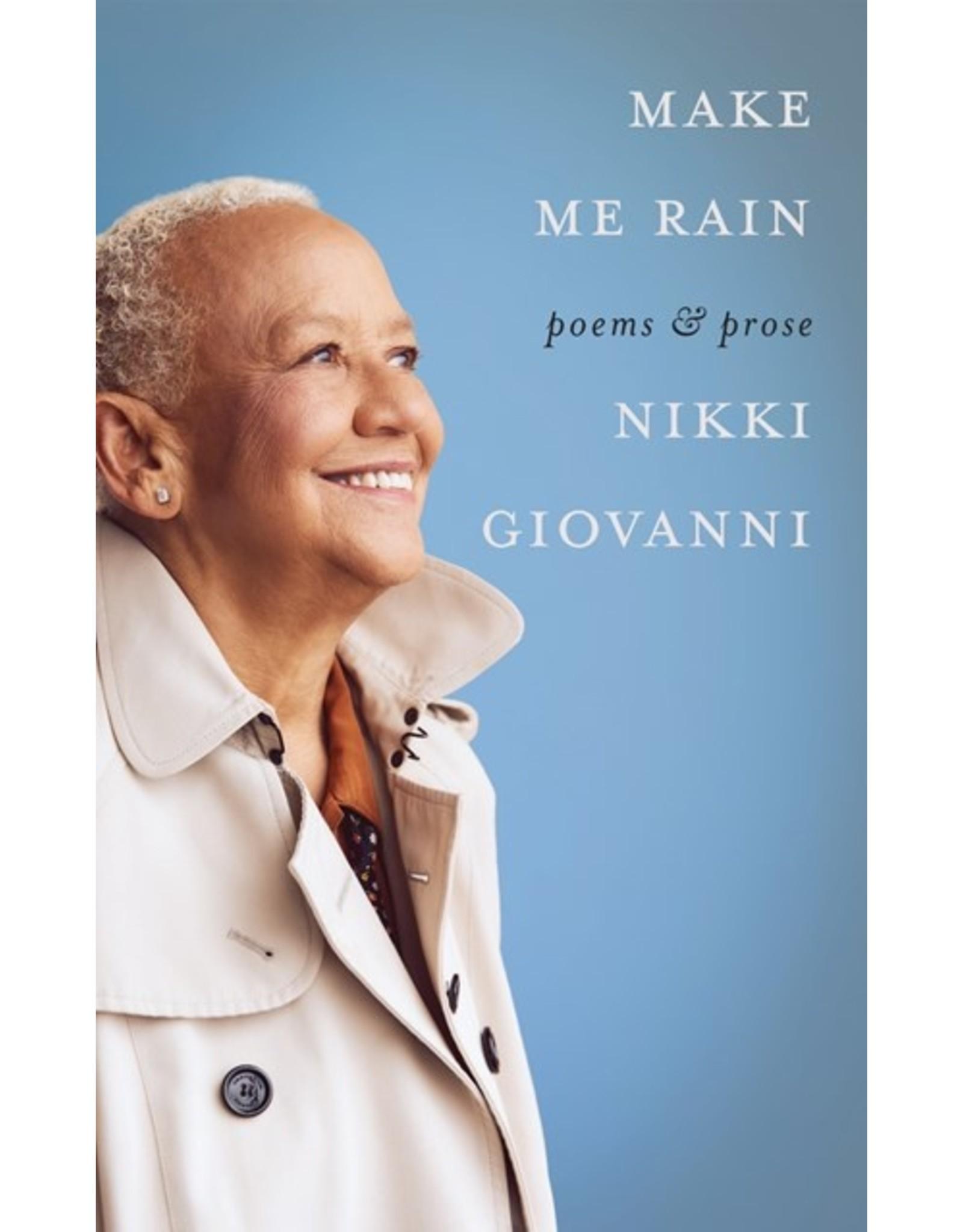 Books Make Me Rain: Poems & Prose by Nikki Giovanni