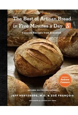 Books The Best of Artisan Bread in Five Minutes a Day by Jeff Hertzberg, M. D.  & Zoe Francois