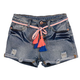 Hannah Banana A222227 Denim Short