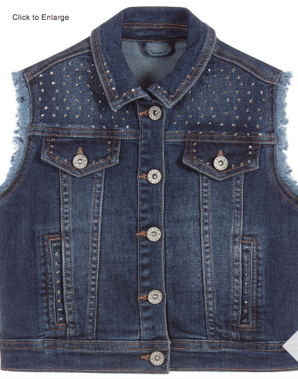 Mayoral Mayoral Denim Vest
