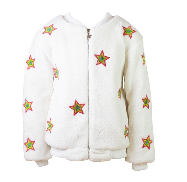 Lola and the Boys Star Plush Bomber