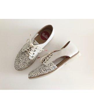 Rollie Sidecut Snow/Leopard Shoes