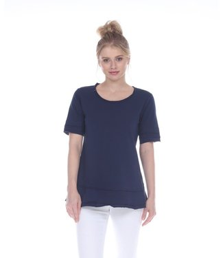 Neon Buddha Navy Blue Top