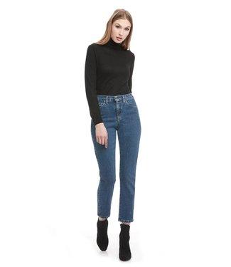 """Yoga Jeans High Rise Slim - Medium Blue / 27"""" inseam"""