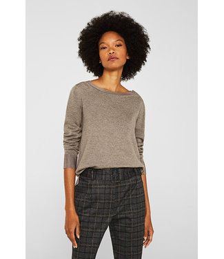Esprit Sweater With Shiny Trim Details