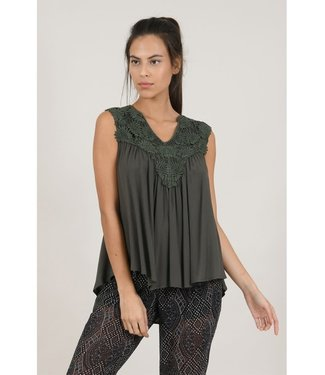 Molly Bracken Bohemian Lace Tank Top