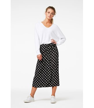 SIMPLE Polka Dot Skirt