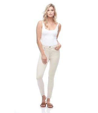 "Yoga Jeans Classic Rise Skinny - Beige / 27"" inseam"