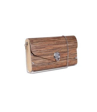 Sol Design Brown Big Clutch