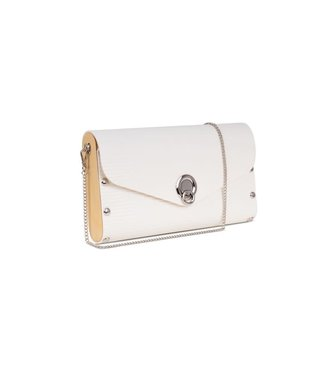 Sol Design White Big Clutch