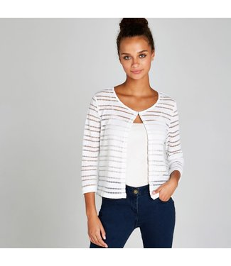 Apricot Open Crop Cardigan