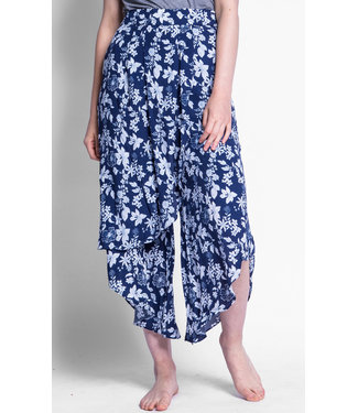 Pink Martini Flared Floral Pants