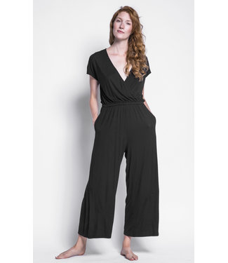 Pink Martini Black Jumpsuit