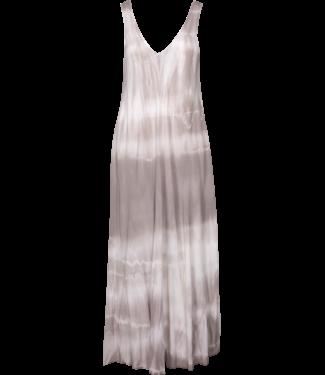 M Made in Italy Beige Tie Dye Dress