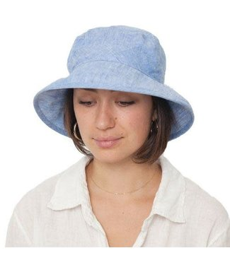 Puffin Gear Linen Chambray Bowler Hat