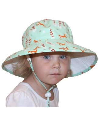 Puffin Gear Organic Cotton Sunbaby Hat