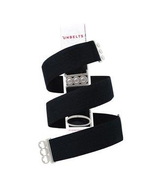 Unbelts Black/Silver