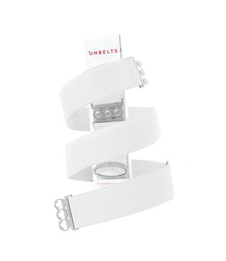 Unbelts White/Silver