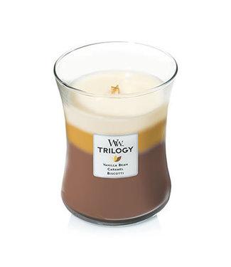 Wood Wick Trilogy Candle - Vanilla Bean
