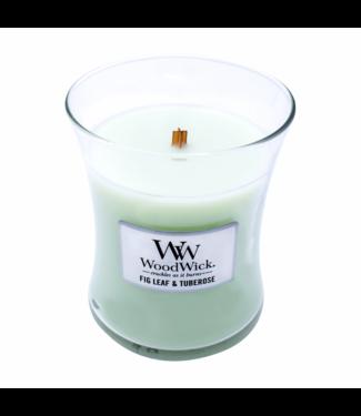 Wood Wick Candle - Fig Leaf and Tuberose