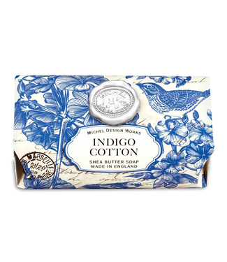 Michel Design Indigo Cotton