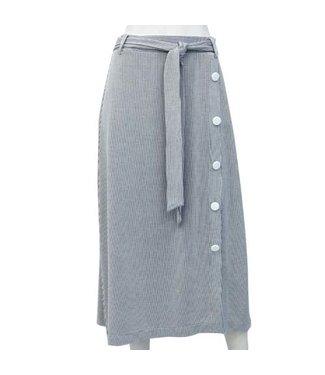 Point Zero Striped Skirt