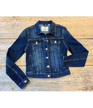 Point Zero Dark Denim Jacket