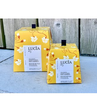 Lucia 3 - Tea Leaf & Honey Flower Small