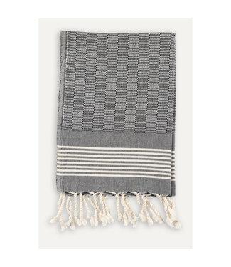 Pokoloko Turkish Hand Towel - Black