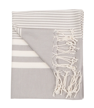 Pokoloko Turkish Hand Towel - Grey