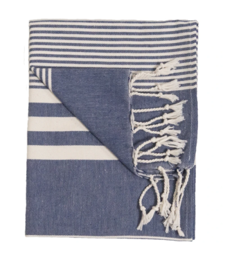 Pokoloko Turkish Hand Towel - Blue