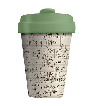 Chic Mic Bamboo cup - Music Notes