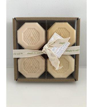 Honey Soap - Set of Four