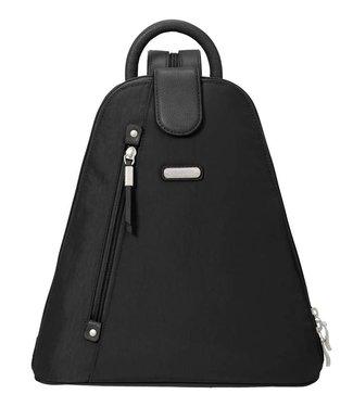 Baggallini Metro Backpack w/ RFID wristlet - Black
