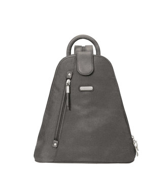 Baggallini Metro Backpack w/ RFID wristlet - Grey