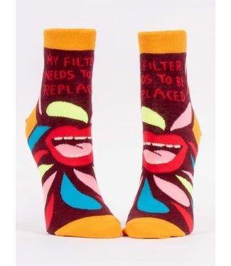 Blue Q My filter - Ankle Socks Women