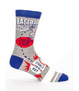 Blue Q Baseball - Crew Socks Men