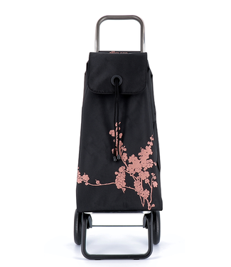 Rolser Shopping Cart - Rose Gold Cherry Blossom