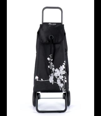 Rolser Shopping Cart - Silver Cherry Blossom